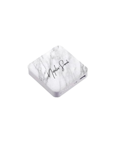 White Marble Power Bank