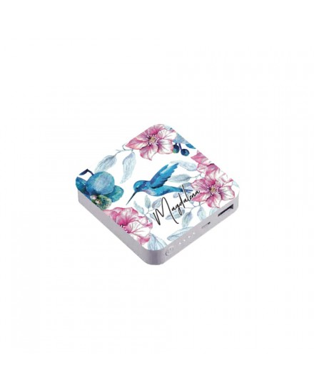 summer orchid 01 power bank
