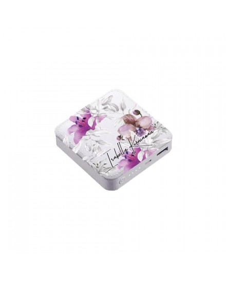 summer orchid 02 power bank