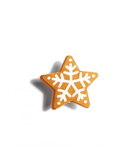 Gingerbread Star Pop Grip