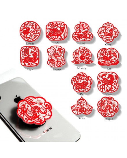 Chinese Zodiac Pop Grip