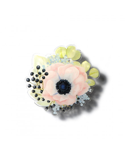 Poppies Bouquet Phone Stand